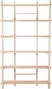 Hakola Edit shelf, high, 6 shelves