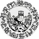 Iittala Taika plate 30 cm, black