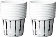 Rörstrand Filippa K coffee mug 0,31 L, 2 pcs, Ink stripe
