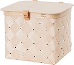 Verso Design Lastu birch basket with lid, M