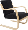 "Artek Aalto armchair 402 ""Atelje"" black"