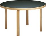 Artek Aalto table 91, birch - black