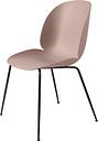 Gubi Beetle chair, black steel - sweet pink