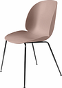 Gubi Beetle chair, black chrome - sweet pink