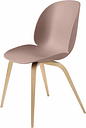 Gubi Beetle chair, oak - sweet pink