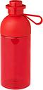 Room Copenhagen Lego drinking bottle, transparent, red