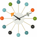 Vitra Ball Clock, multicolour