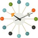 Vitra Ball Clock, multicolour