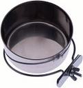 Comedero de acero para pájaros - 0,56 l aprox. diámetro: 12 cm