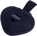 Dispensador Corazón con rollo de bolsas incluido - Negro