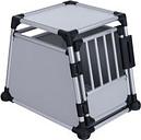 Jaula de transporte Trixie de aluminio -  M: 55 x 78 x 62 cm (An x P x Al)