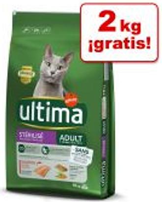 Ultima para gatos 2 x 7,5 kg / 2 x 3 kg - Pack Ahorro - Bolas de Pelo (2 x 7,5 kg)