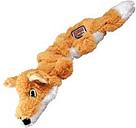KONG Scrunch Knots zorro de peluche con sonido para perros - S/M: 23 x 8 x 5 cm (L x An x Al)