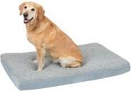Colchón ortopédico Memory gris para perros  -  121 x 74 x 10 cm (L x An x Al)