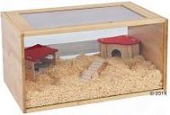 Jaula para roedores Skyline Marrakech - Natural: 96 x 47 x 38 cm (L x An x Al)