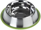 Comedero Silver Line con anillo verde - 700 ml, diámetro 23 cm