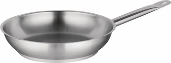 Vogue Stainless Steel Induction Frying Pan 280mm