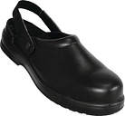 Lites Unisex Safety Clogs Black 43 Size: 43