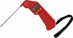 Hygiplas Easytemp Colour Coded Red Thermometer
