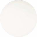 Werzalit Pre-drilled Round Table Top White 800mm