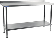Holmes Self Assembly Stainless Steel Wall Table 1200mm