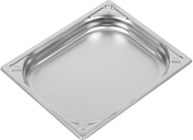 Vogue Heavy Duty Stainless Steel 1/2 Gastronorm Pan 40mm