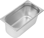 Vogue Heavy Duty Stainless Steel 1/3 Gastronorm Pan 150mm
