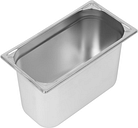 Vogue Heavy Duty Stainless Steel 1/3 Gastronorm Pan 200mm