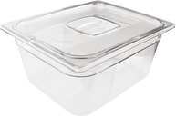 Rubbermaid Polycarbonate 1/2 Gastronorm Container 150mm Clear