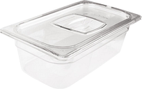Rubbermaid Polycarbonate 1/3 Gastronorm Container 150mm Clear