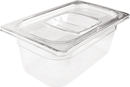 Rubbermaid Polycarbonate 1/4 Gastronorm Container 150mm Clear