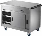 Lincat Panther Hot Cupboard and Plain Top P8P3