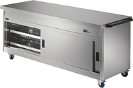 Lincat Panther Hot Cupboard and Plain Top P8P6