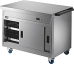 Lincat Panther Hot Cupboard and Plain Top P8P3PT