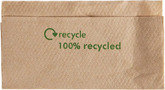 Compostable Kraft Lunch Napkins 320 x 300mm (Pack of 6000)