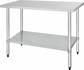 Vogue Stainless Steel Prep Table 1500mm