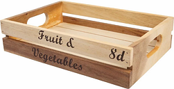 Rustic Fruit and Veg Crate