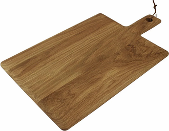 Olympia Oak Wood Handled Wooden Board Large 350mm