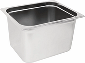 Vogue Stainless Steel Gastronorm 2/3 Pan 200mm