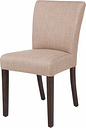 GR367 - Bolero Contemporary Dining Chair Natural (Pack 2)