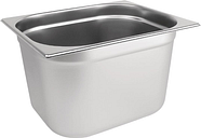 Vogue Stainless Steel 1/2 Gastronorm Pan 200mm