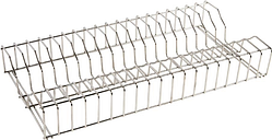 Vogue Stainless Steel Plate Racks 600mm
