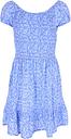 Older Girls Blue Floral Dress