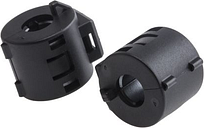 RS PRO Openable Ferrite Clamp, 19.5 Dia. x 23mm, For Computer Peripherals, Digital TV, Internal & External Power (2)