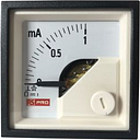 RS PRO Analogue Panel Ammeter 1 (Input)mA DC, 48mm x 48mm, 1 % Moving Coil