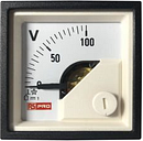 RS PRO Analogue Panel Ammeter DC, 48mm x 48mm, 1 % Moving Coil