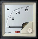 RS PRO Analogue Panel Ammeter DC, 72mm x 72mm, 1 % Moving Coil