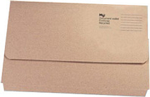 Q-CONNECT Q CONNECT RECYCLED DOCUMENT WALLET 32MM