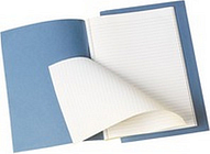 Q-CONNECT KF01390 writing notebook Blue A4 48 sheets