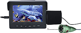 15M 1000TVL Fish Finder Underwater Fishing Camera 4.3 LCD Monitor 6PCS 1W IR LED Night Vision Camera For Fishing